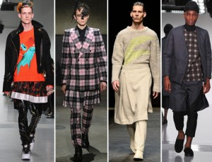 mens-london-fashion-week-skirts